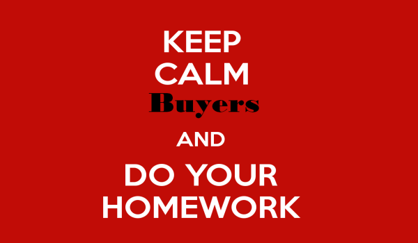 Do Your Homework Before Buying Property