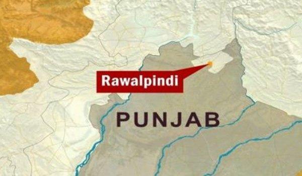 Location of Rawalpindi on Punjab Map