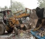 Encroachment razed in Baldia Town