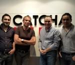 Left to Right - Imran Ali Khan, Gilles Blanchard, Patrick Grove, Zeeshan Ali Khan
