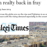 Pakistan property market - Khaleej Times