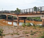 Construction of bridge almost complete