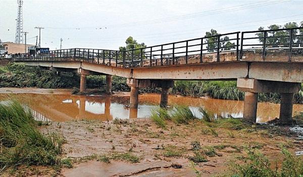Construction of bridge almost complete