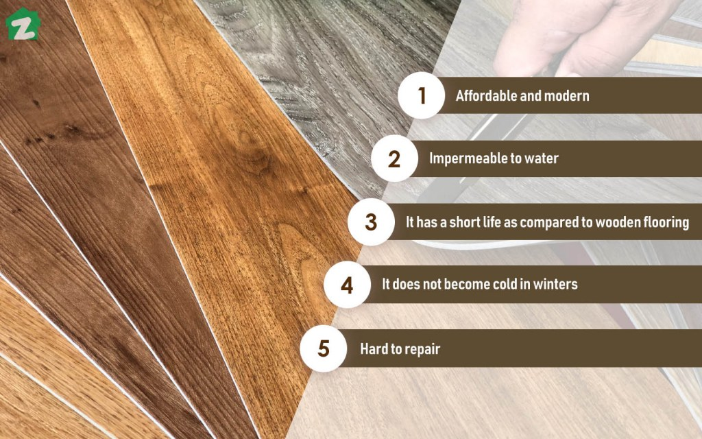 Vinyl Flooring Is The Most Inexpensive Modern Option