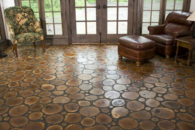 Modern flooring options for your home and their rates for Cordwood house cost