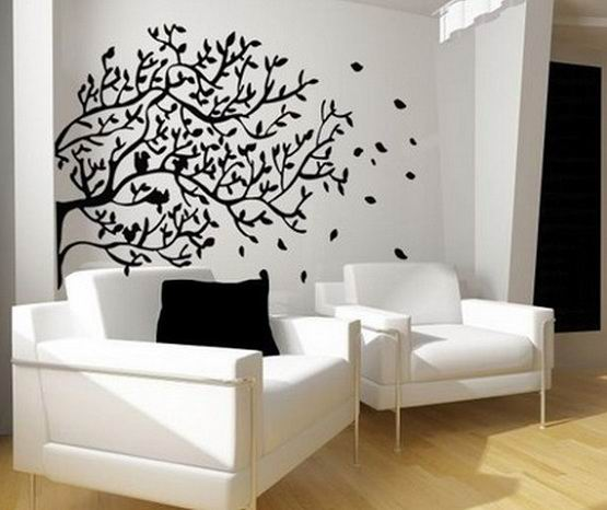 Simple and cheap ideas for wall decoration zameen blog for Living room wall decorating ideas on a budget