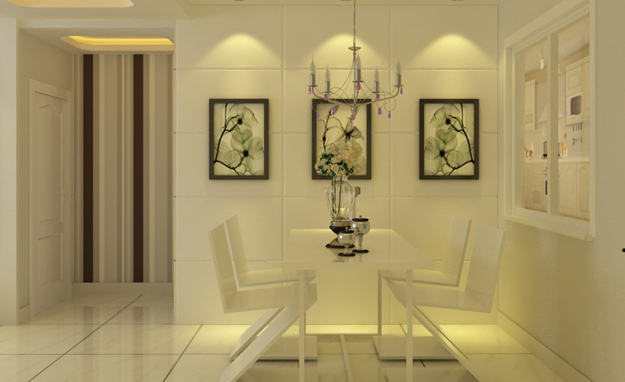 Simple and cheap ideas for wall decoration zameen blog for Dining room useless
