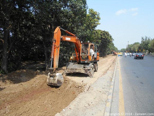 Development of road 1