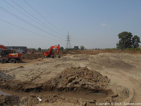 Development of road 2