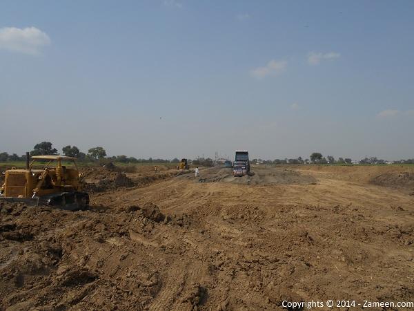 Development of road 5
