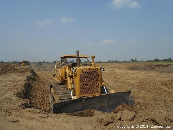Development of road 6