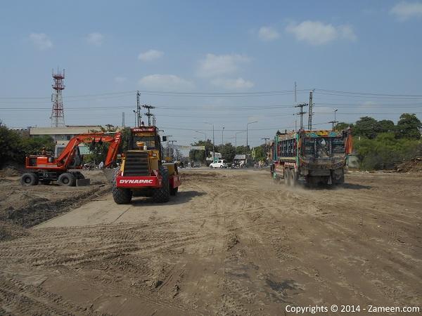 Development of road 8