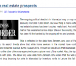 real estate pakistan, zameen.com, political sit-ins