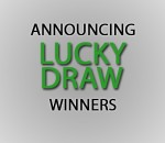 announcing lucky draw winners