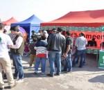Zameen.com exhibits its stall at Pakwheels Auto Show