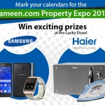 Come to the Zameen.com Property Expo 2014 and win awesome prizes!