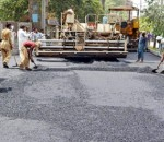 funds approved for construction of road