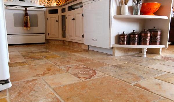 Clean Greasy Kitchen Floor