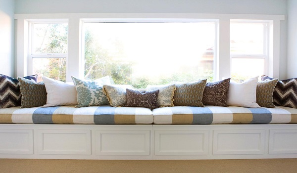 How a window seat can be the coziest spot in your house for Window you can sit in