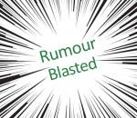 rumour blasted