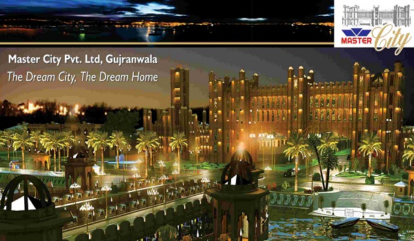 Master city a fresh residential project in gujranwala for Art decoration international pvt ltd