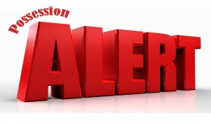 possession alert