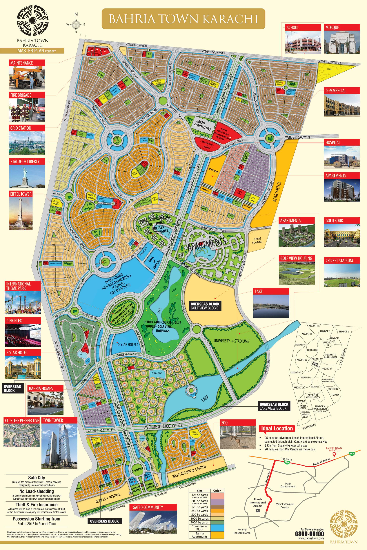 Verde Karachi Map