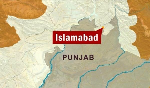 Islamabad on map