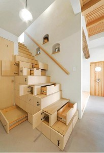 great-looking-creative-apartment-design-with-smart-wooden-stair-storage-idea