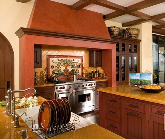 Inspirational kitchen designs from around the world for Spanish style kitchen designs