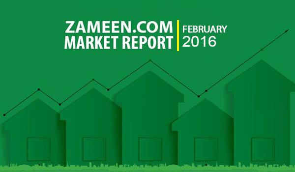 Zameen.com Market Report February