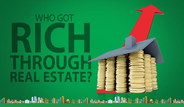 how to become rich through real estate