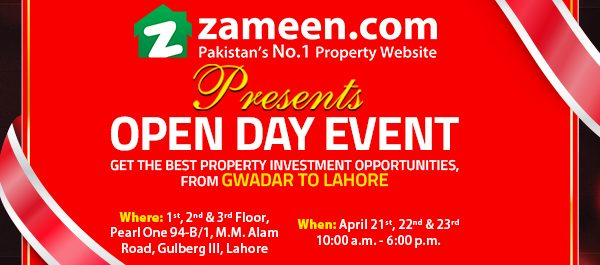 organises open day event for investors homebuyers zameen blog. Black Bedroom Furniture Sets. Home Design Ideas