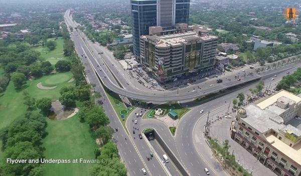 Karachi urban freeway signal free corridor