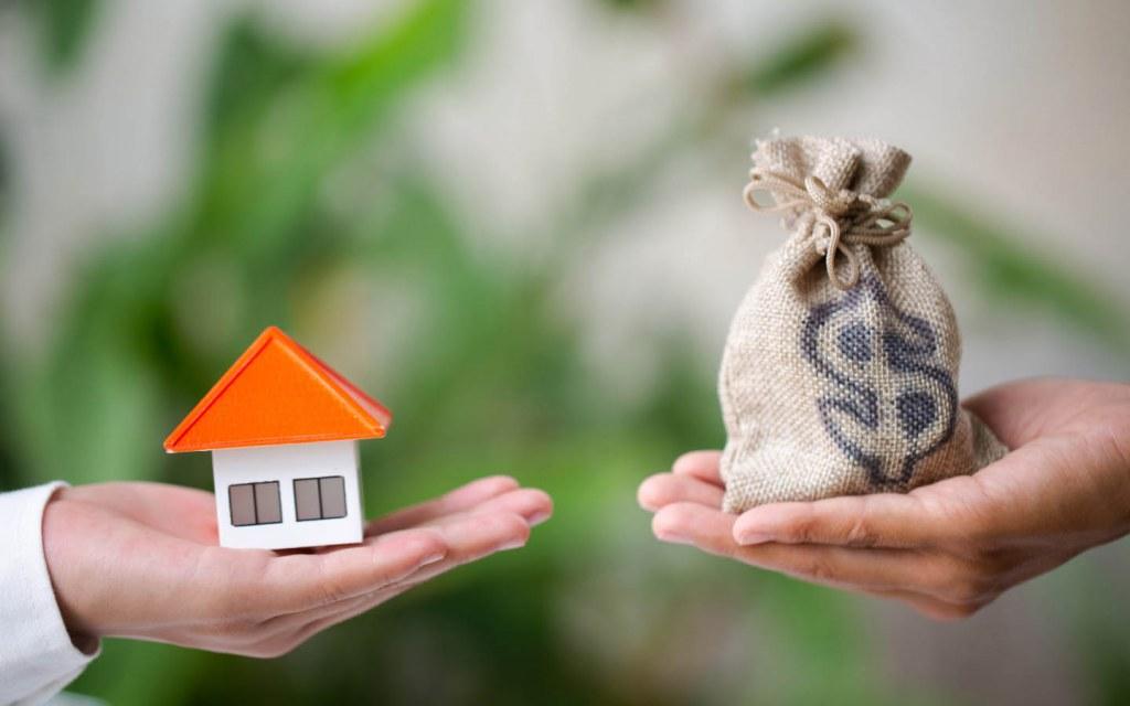 Property registration includes money transaction