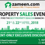 Attractive investment opportunities on display at Zameen.com's Property Sales Event, Karachi