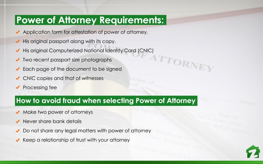 Attestation & Registeration of Power of Attorney for