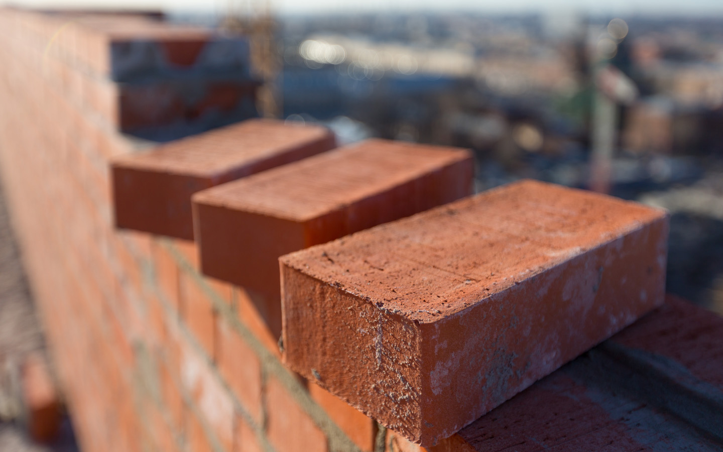 Bricks are important construction material