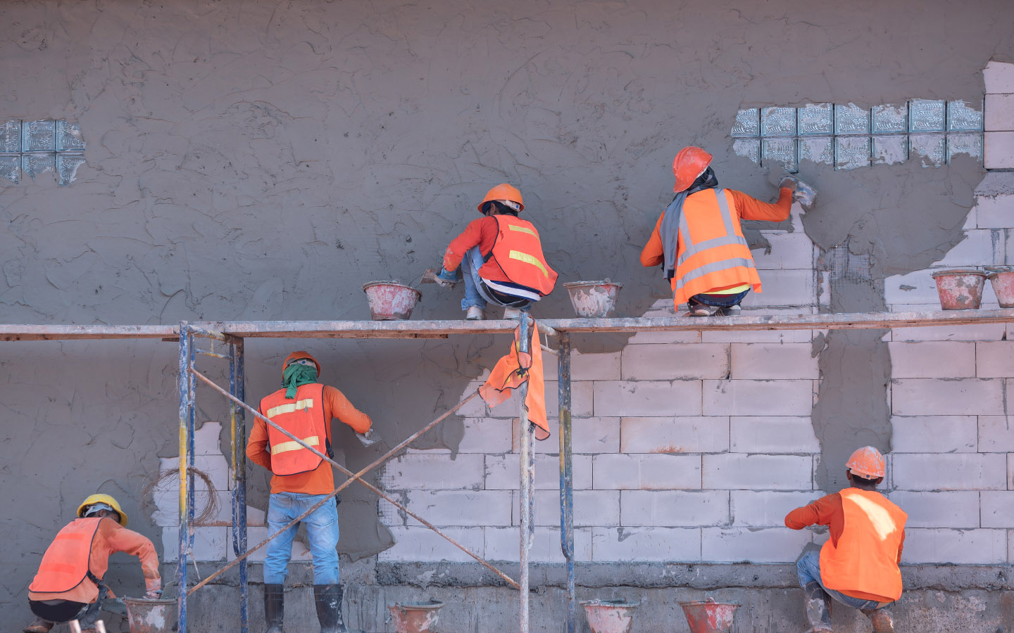 Cement is an equally important construction material