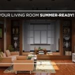 Get your living room summer-ready!