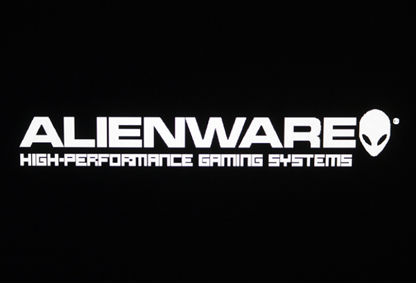 Logo of Alienware, a subsidiary of Dell that is famous for gaming laptops