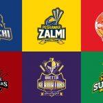 PSL team logos