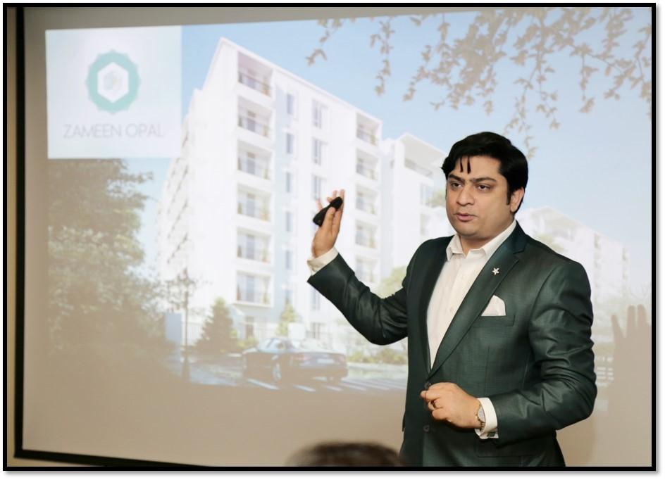 Usman Sarwar, Associate Director, CPML Sales Lahore talks about Zameen Opal