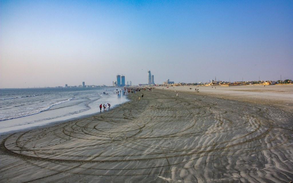 Clifton Beach or Sea View, Karachi