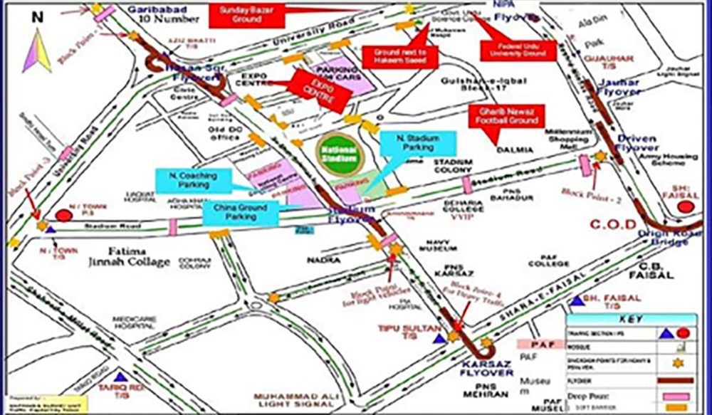 PSL 4 in Karachi—Traffic & Security Plan for 2019 | Zameen Blog