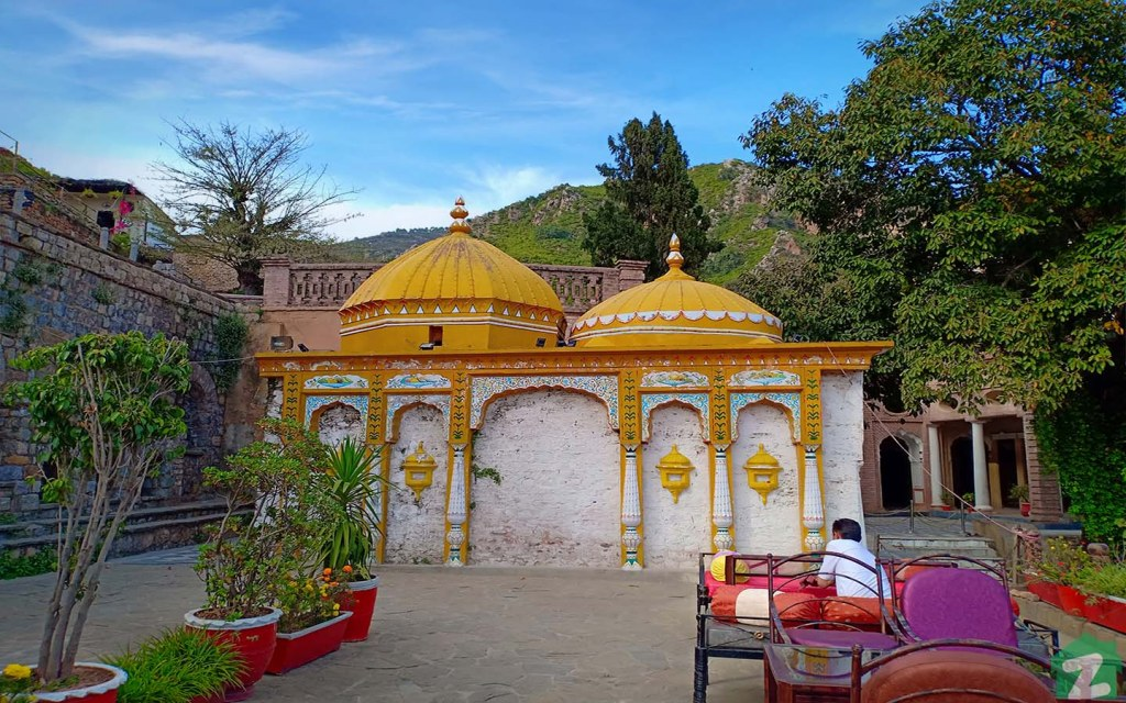 Renovated Hindu rest house in Saidpur Model Village Islamabad