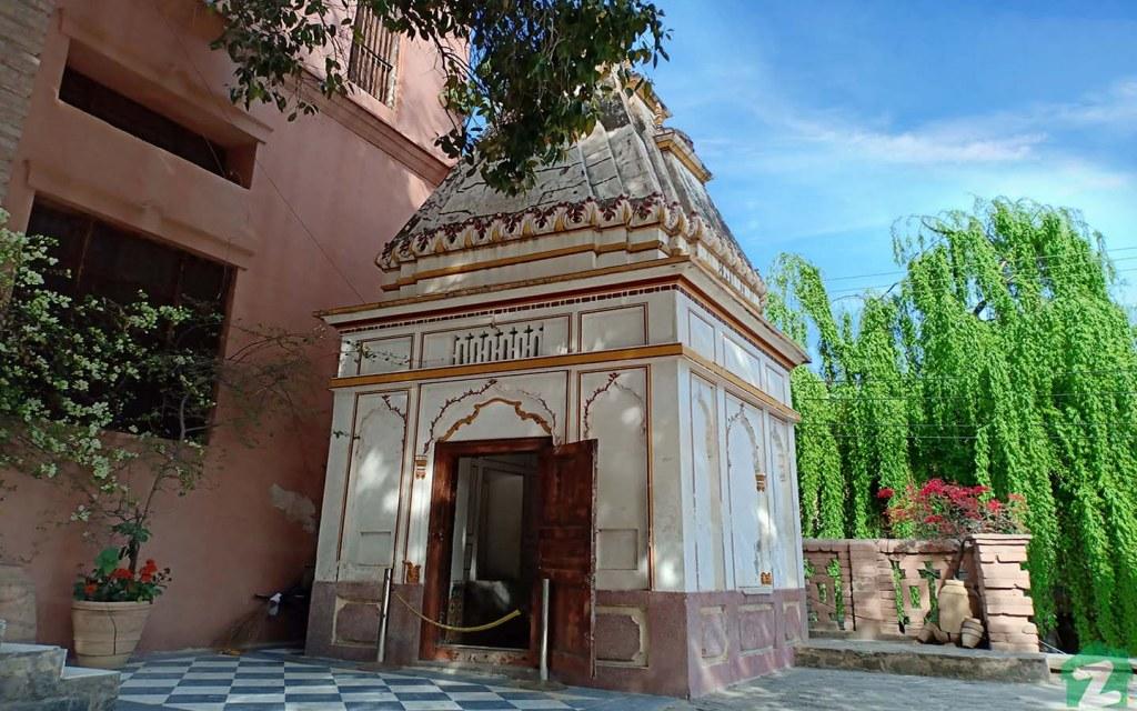 Centuries old Hindu temple in Saidpur Model Village in Islamabad