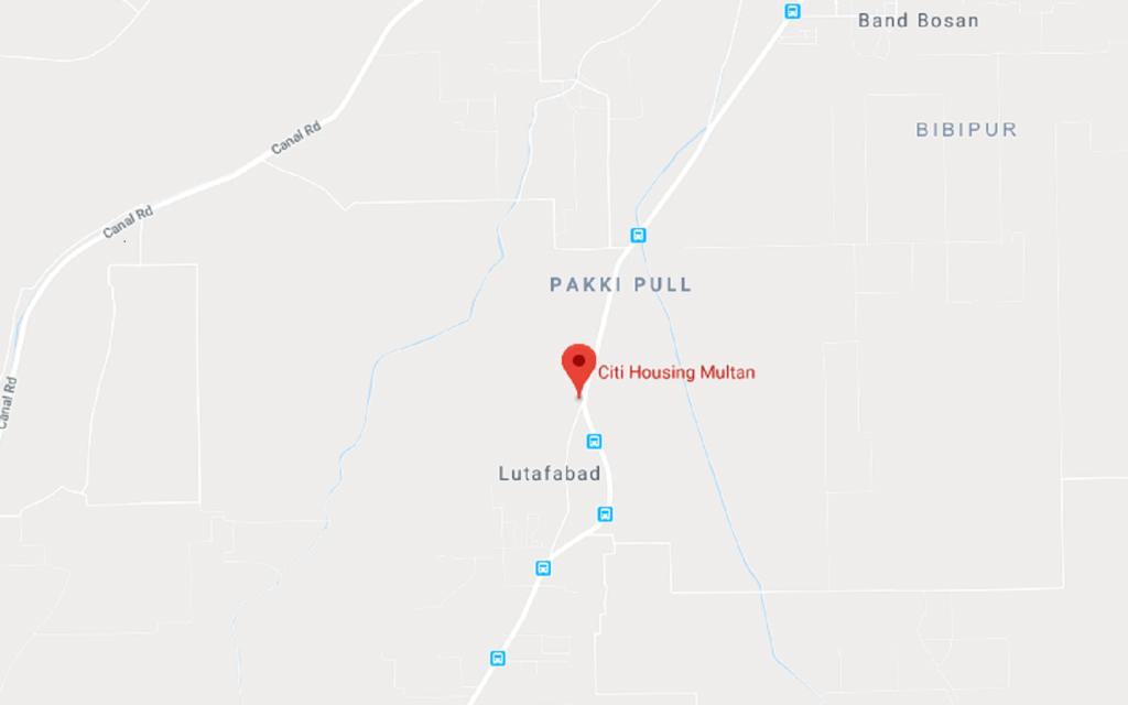 Citi Housing Multan is located near Lutafabad