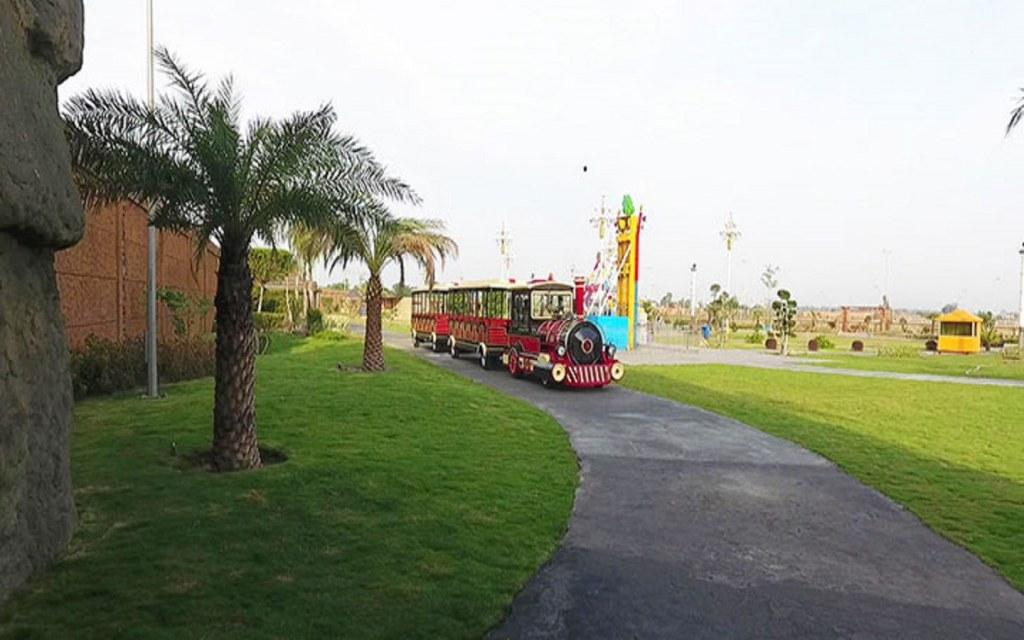 Theme park in Citi Housing socitey Gujranwala