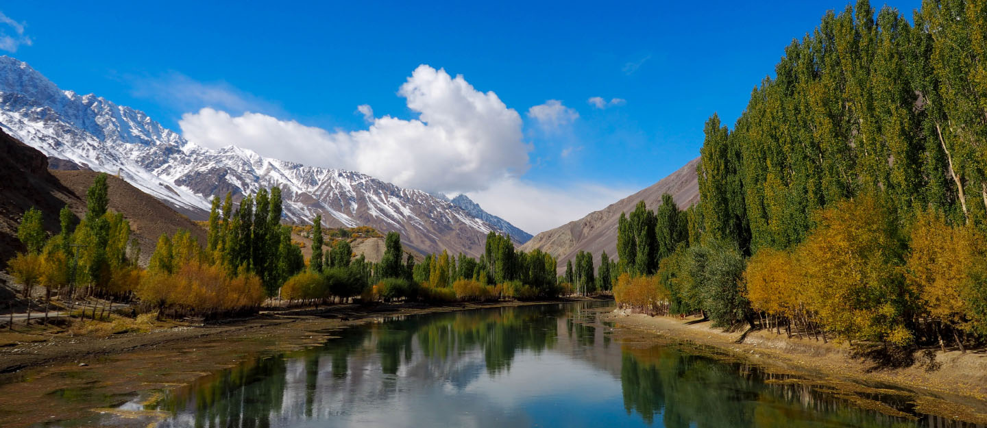 Phander Valley in Northern areas of Pakistan